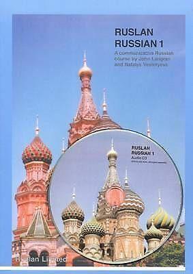Ruslan Russian 1: A communicative Russian Course (Book & CD)-ExLibrary