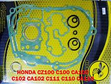 HONDA SCOOTER CZ100 C100 CA100 C102 CA102 C111 C110 CA110 Complete Gasket Set