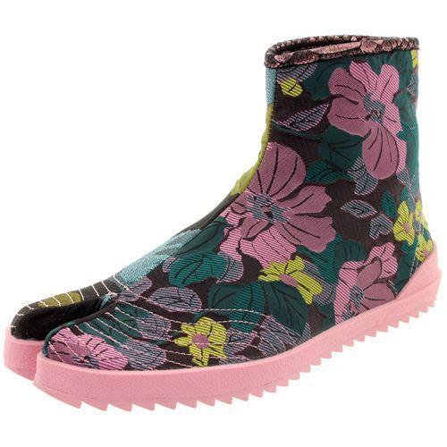 Irregular Choice Split-Toe Jika-Tabi Stiefeletten Sandy Toes 2535-34A