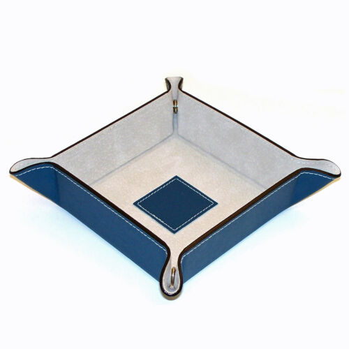 YOUR CHOICE TEN COLORS JEWELRY HOLDERS /& ORGANIZERS LEATHER JEWELRY TRAY
