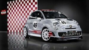 "FIAT ABARTH 595 TURISMO A4 CANVAS PRINT POSTER 11.7/"" x 7.6/"""