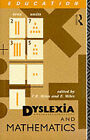 Dyslexia and Mathematics by Taylor & Francis Ltd (Paperback, 1991)