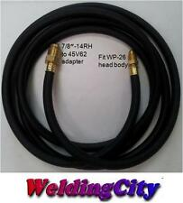 TIG Welding Power Cable Gas Hose 46V30R Rubber 25' Torch 26   US Seller Fast
