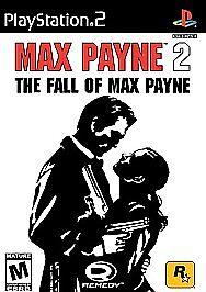 Max Payne 2 The Fall Of Max Payne Game Playstation 2 Ps2