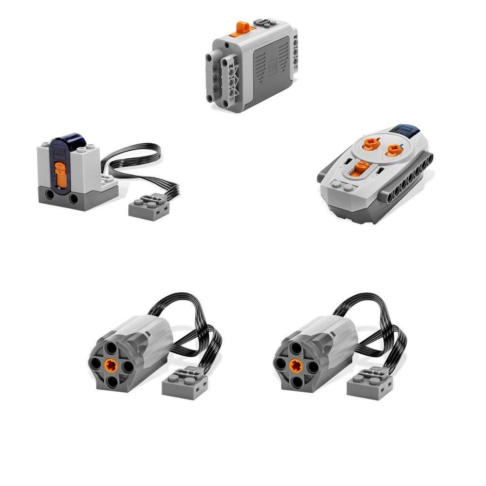 acquista online oggi Lego energia divertimentoctions RC Remote Remote Remote Motorizing Kit  8881 + 8884 + 8885 + 8883 x 2   in vendita scontato del 70%