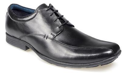 POD Gavin Boys School Shoes Leather