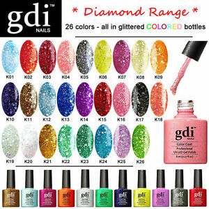 Details About All New Gdi Nails Diamond Uv Led Soak Off Gel Nail Polish Alternative To Shellac