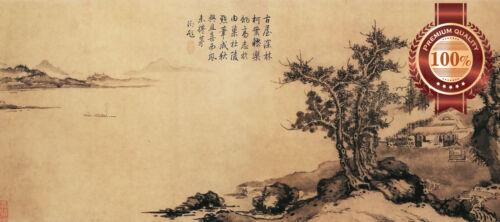 NEW ANCIENT CHINESE LANDSCAPE ART ARTWORK PAINTING ORIGINAL PRINT PREMIUM POSTER