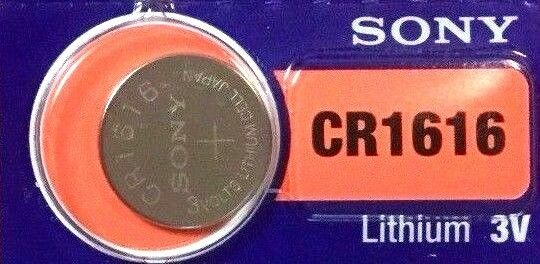 1 New SONY CR1616 3v Battery MADE in JAPAN Fast Post