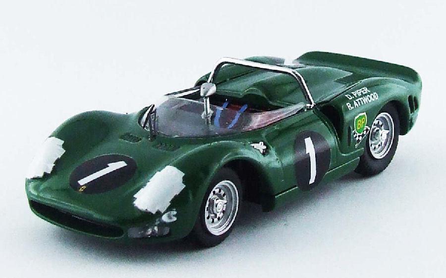 Ferrari P2  1 Winner  9h Kyalami 1965 Piper   Attbois 1 43 Model BEST MODELS  meilleure mode