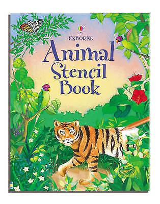 1 of 1 - Animal Stencil Book by Ruth Brocklehurst (Hardback, 2006)