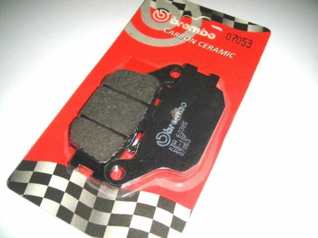 Pads BREMBO Carbon Rear Honda CBR 600 RR 2004
