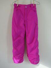 GIRLS YOUTH Columbia SNOW Starchaser Peak II Pants Pink Size M MEDIUM  NEW  $75