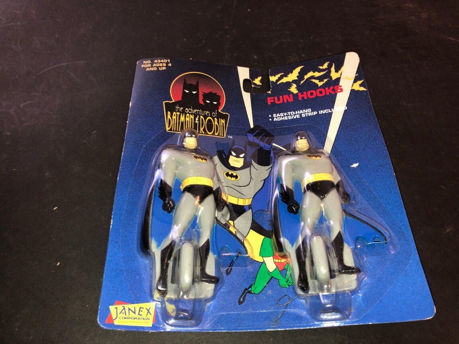 Batman Ganchos De Diversión Nuevo en Caja Aventuras De Batman Y Robin