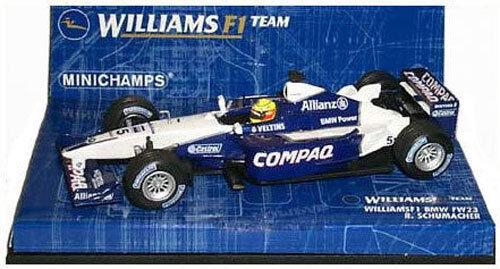Minichamps Williams f1 BMW fw23 2001-RALF SCHUMACHER SCALA 1/43