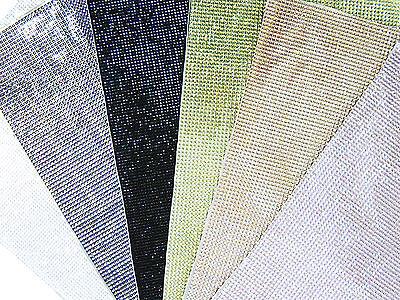 Strass Steine Glitzersteine selbstklebend 10x6,5 cm Farbauswahl neu, #1