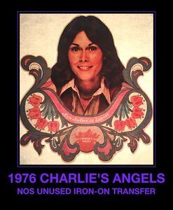 Cheyrl Ladd Charlies Angels 1970/'s Iron-on Transfer