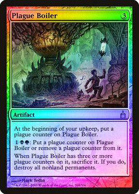 Plague Boiler FOIL Ravnica City of Guilds NM Artifact Rare MTG CARD ABUGames