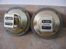 Vintage SANSUI S-2001 16 Ohm Alnico Mid Range Speakers