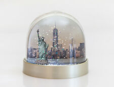 Snow Globe of New York,NY snow shaker,statue of liberty,Freedom,central park ice