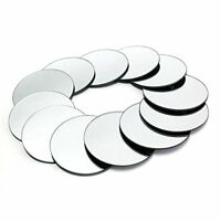 "10 pcs  Round 8"" Glass MIRROR Wedding Table Decorations PARTY Centerpieces"