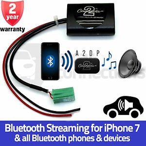 ctarn1a2dp renault megane a2dp bluetooth streaming interface adapter iphone 7 ebay. Black Bedroom Furniture Sets. Home Design Ideas