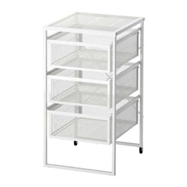 Ikea Lennart Casters Drawer Unit Holds, Black Storage Drawers Ikea