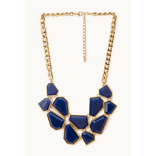 F21 Forever21 Jigsaw Bib Necklace