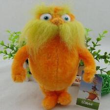 "Dr. Seuss The Lorax Plush Toys Stuffed Animal Toy Doll 9"" Kids Children Gift"