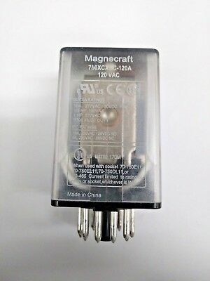 11 Pins Plug in Relay 120Vac Square