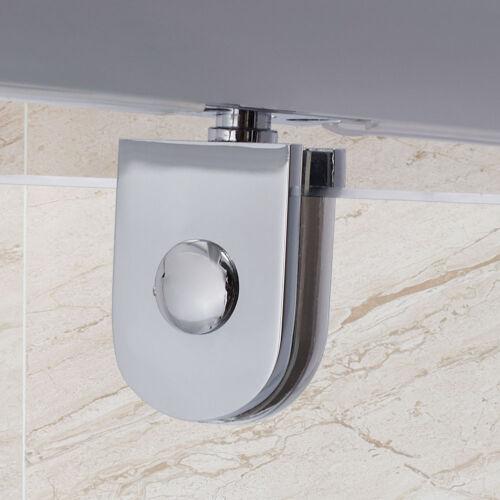 Pivot Hinge Shower Door Enclosure Glass Screen Cubicle Side Panel Stone Tray