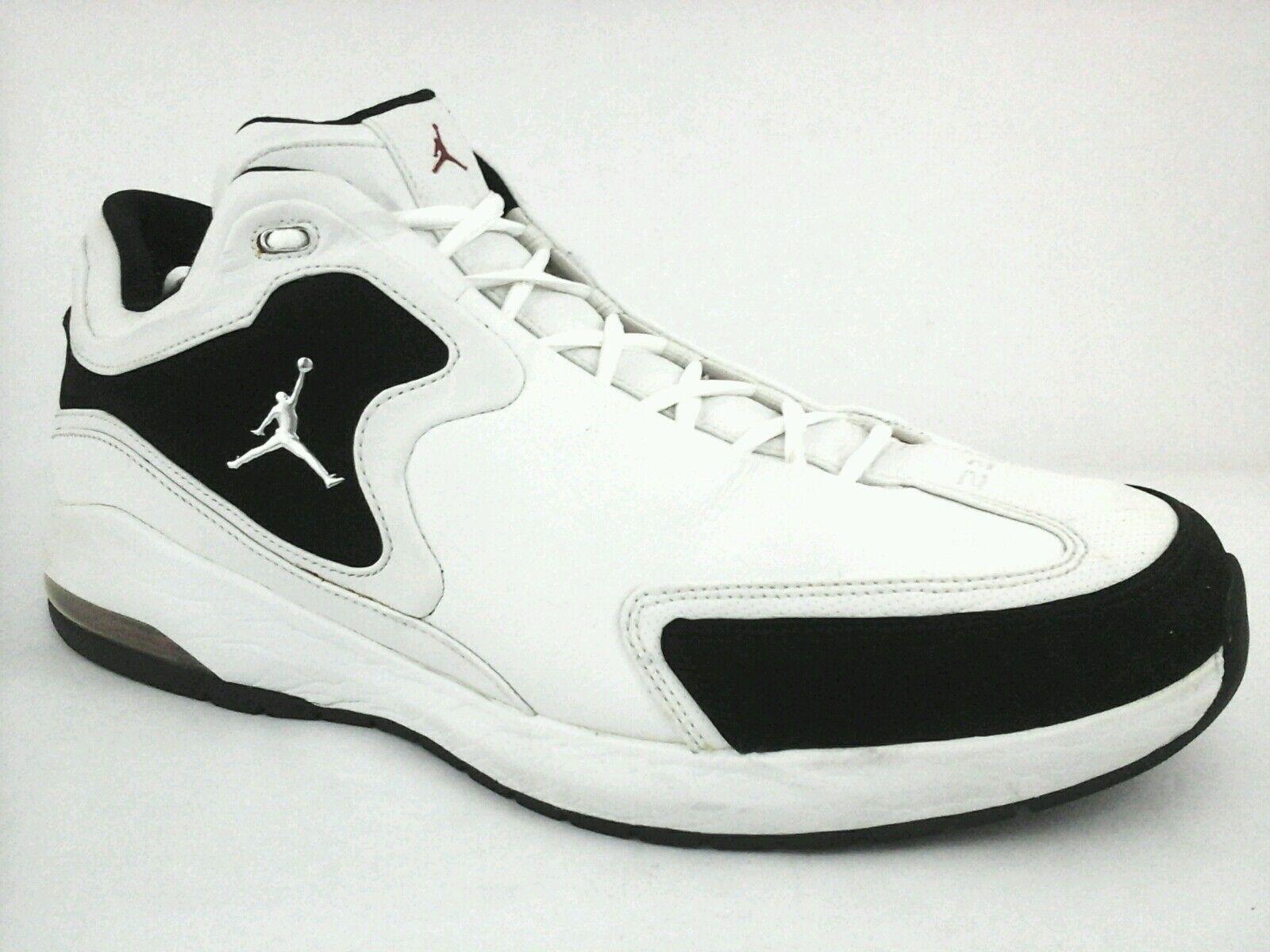 Michael Jordan 23 High Top Shoes Sneakers Basketball White Bk 2018 US 13