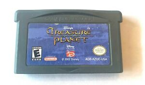 Disney's Treasure Planet Nintendo Game Boy Advance GBA Game TESTED Working!