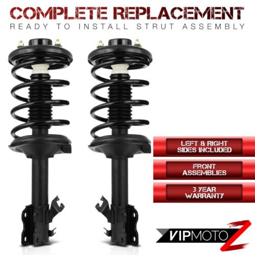 {Front Complete Shocks} For 02-04 Infiniti I35 Quick Strut Coil Spring Assembly