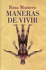 Maneras de Vivir by Rosa Montero and La Ediciones (2014, Paperback)