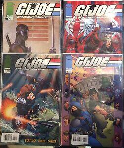 GI-Joe-Real-American-Hero-1-4-034-Reinstated-034-Set-VF-1st-Print-Image-Comics