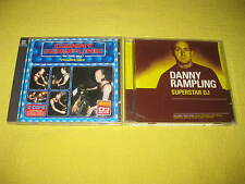 Danny Rampling In The Mix Volume One & Superstar DJ 2 CD Albums Dance House