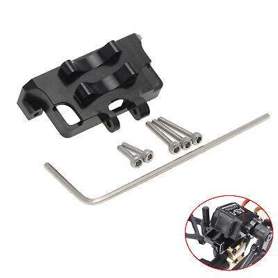 Aluminum Steering Servo Mount for 1//24 Axial SCX24 90081 RC Model Car Parts