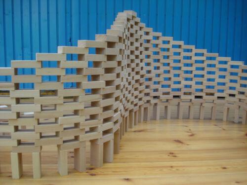 Öko 30 neue Holzbausteine Bauklötze natur; unlackierte Buche aus der Region