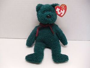 Image is loading TY-Beanie-Baby-Babies-2001-HOLIDAY-TEDDY-Christmas- b5c0409734cf