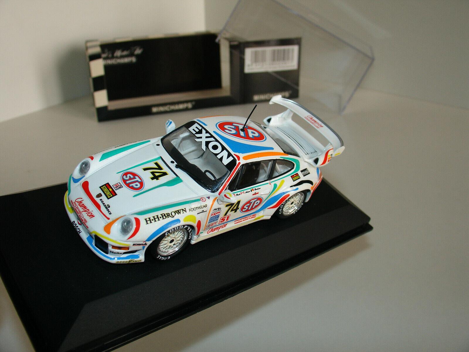 1 43 PORSCHE 911 GT2 (993)  74  STP  24h DAYTONA 1996 by MINICHAMPS