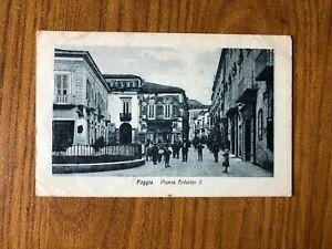 CARTOLINA-FOGGIA-PIAZZA-FEDERICO-II-VIAGGIATA-1919-44