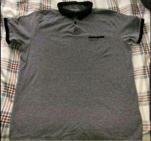 Details about Primark Men's Grey Polo Shirt XL