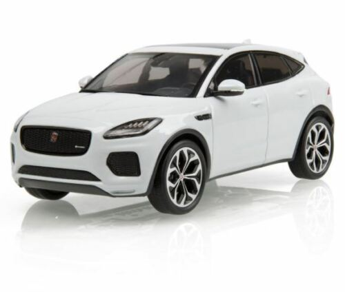 GENUINE JAGUAR E-PACE 1:43 SCALE MODEL - YULONG WHITE - JEDC279WTY