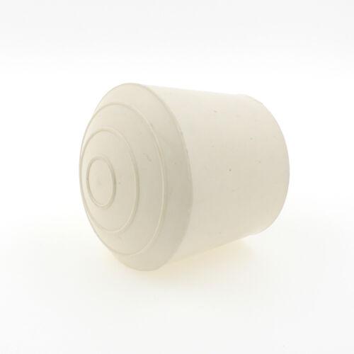 12 mm en caoutchouc blanc Bagues de serrage pour tables et Chaise Pieds Embouts Bouchons