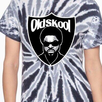 ICE CUBE OAKLAND FOOTBALL GANGSTA ART **OLDSKOOL CUSTOM** T-Shirt *MANY OPTIONS*