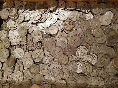 1916-1930 Old US Coins Standing Liberty Quarter CULL Coin 90/% SILVER 1
