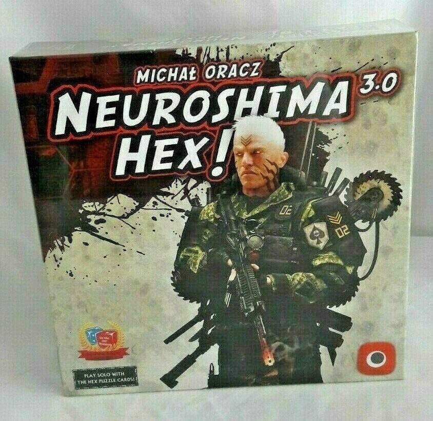 Neuroshima HEX 3.0 Michal oracz Militar Táctico Tablero Juego Nuevo Sellado De Fábrica