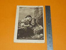 CHROMO 1890/1910 CHOCOLAT VINAY LA RECETTE JEUNES FILLES PANIER DE RAISON