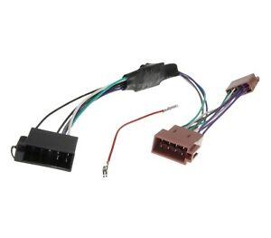Aktiv-System-Auto-Radio-Adapter-Aktiv-Lautsprecher-ISO-Kabel-bis-98-fuer-VW-Audi